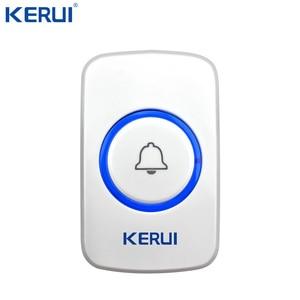 Image 3 - 10 Kerui 무선 패닉 버튼 무선 초인종 비상 버튼 홈 경보 시스템 보안 긴급 호출 도어 벨