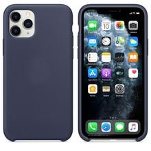 Casos de Silicone Para Apple iphone 11 caso Oficial Original iphone 11 Pro iphone 11 PRO MAX caso para caso Apple iphone 11 Pro Max