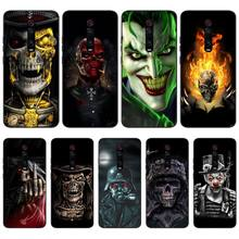 Wumeiyuan Ruthless Skeleton Newly Arrived Black Cell Phone Case For Redmi K20 Note4 4X 5 5A 6 6PRO 7 8 8PRO Cover ruthless
