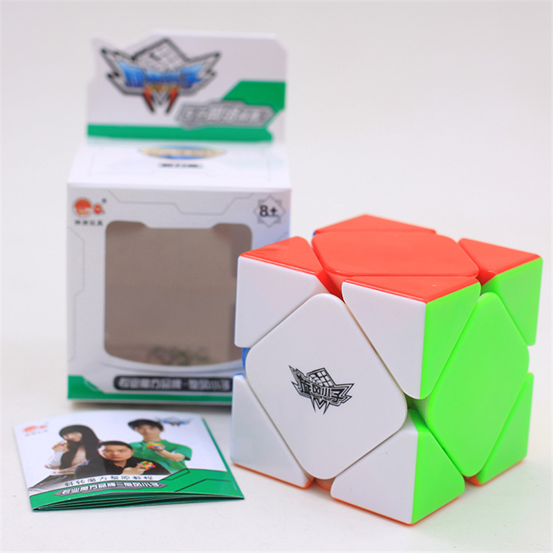 Cyclone Boys Magnetic Skewb Cube Stickerless Skewb Speed Cube Magic Cube Puzzle Cubo Magico Competition Speed Puzzle Cubes Toys