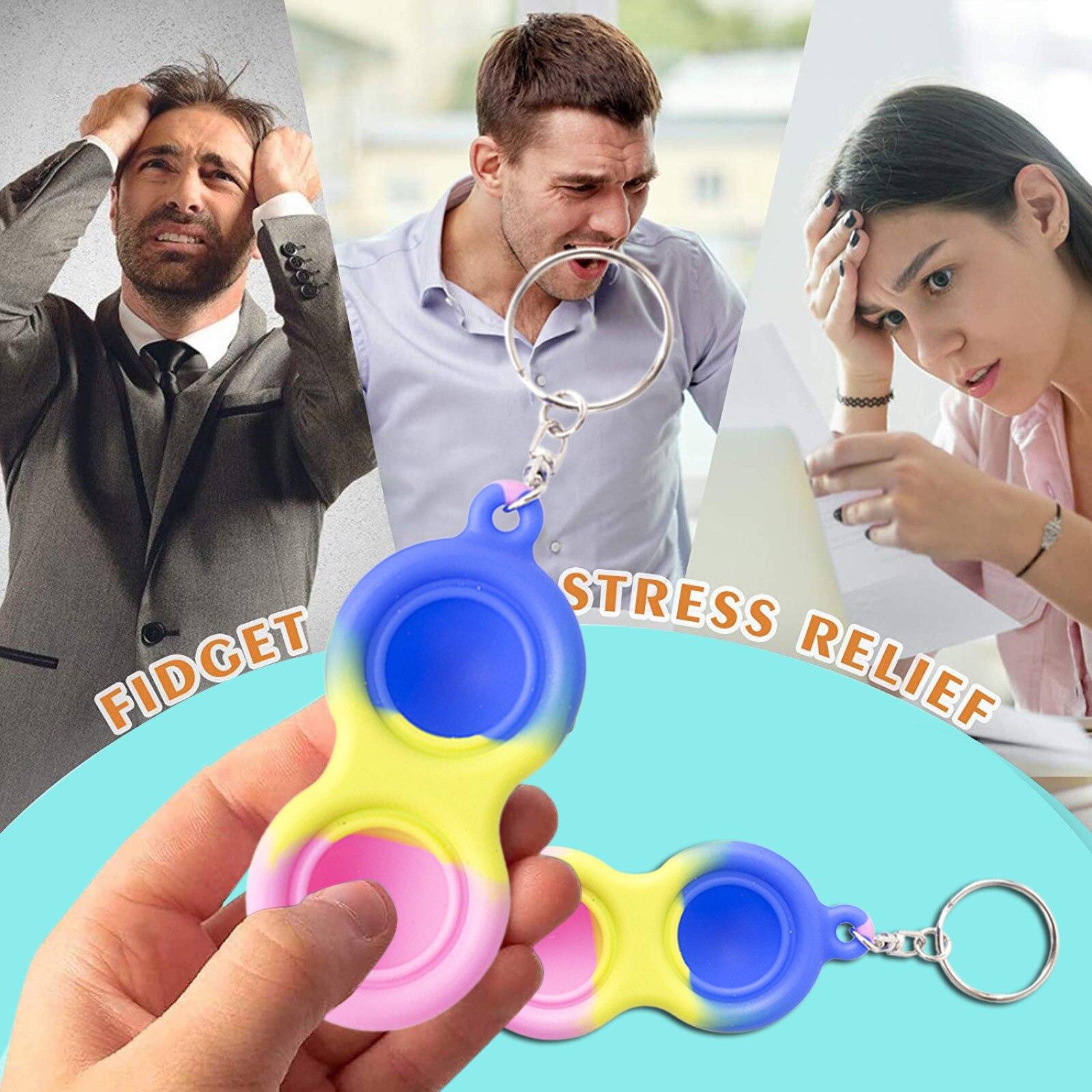 Монтессори фиджет антистресс игрушки простой улыбающегося игрушка Давление снятие плата контроллера развивающие игрушки Brinquedos игрушки для собак Новый - Симпл Димпл