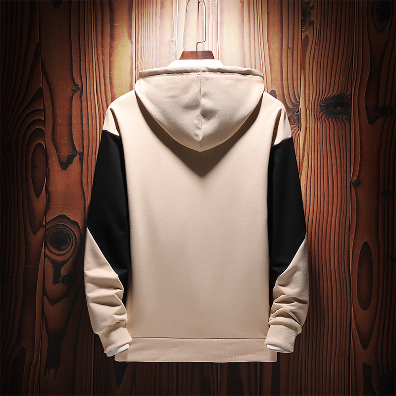 Men Sweatshirts Street Fashion 2019 New Spring And Autumn Patchwork Male Hoodies Teenager Boy Coat Letter Korean Style H16 2