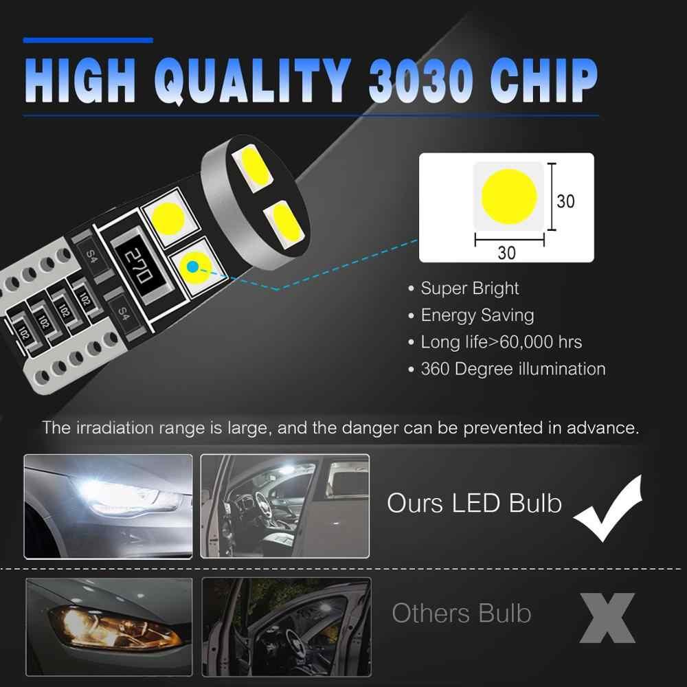 2x T10 Led W5W 194 Auto Verlichting Voor Honda Civic Accord Crv Hrv Jazz Fit NC750X Auto Led Binnenverlichting kofferbak Lamp Xenon Wit Rood