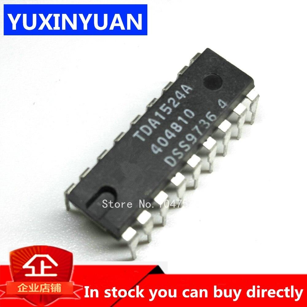 YUXINYUAN 5 шт./лот TDA1524A TDA1524 DIP18 цепь управления стерео/громкостью можно приобрести напрямую