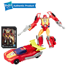 Hasbro Transformers Toys Titans Return Deluxe Autobot Hot Rod Triggerhappy Breakaway Twinferno Action Figure Collection Model transformers toys the last knight premier edition steelbane deluxe dinobot slug autobot sqweeks action figures collection model