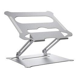 Stojak na notebooka na laptopa regulowany stojak aluminiowy Riser lampka przenośna waga do domowego biura podróży dq-drop