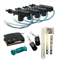 Universal 2/4 Door Power Lock Unlock Kit Keyless Remote Control Entry Car Auto