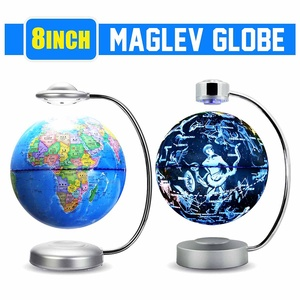 LED Magnetic Levitation Globe Night Light World Map 88-Constellation Lamp Novelty Lighting Office Home Decoration Accessories
