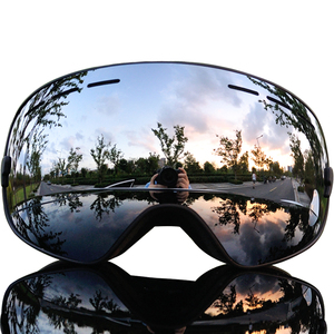 Image 2 - 2019 Brand Ski Goggles Men Women Snowboard Goggles Glasses for Skiing UV400 Protection Snow Skiing Glasses Anti fog Ski Mask