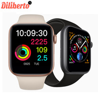 Diliberto W54 Smart Watch Bluetooth Control Wireless Charging Heart Rate Monitor Smartwatch Men Wearable Devices