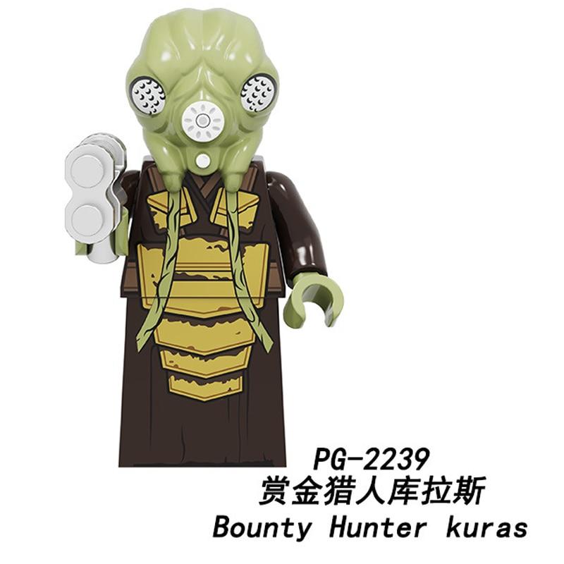 Bai Li Legoed star wars Building Blocks Zakus Bounty Hunter Ella Secure Mandalorian Action Figures Toys Children gifts PG2241