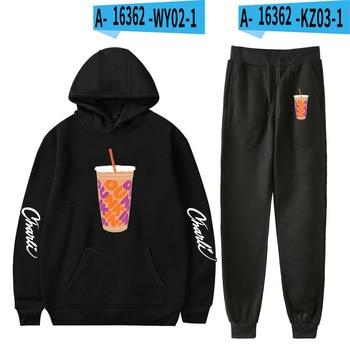 Nes Charli Damelio Merch Hoodie Womens Tracksuit Sweatpants Suit Charlie Damelio Shirt Trousers Sets Unisex Clothes Print Casual 15
