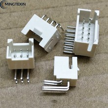 10PCS PHB 2.0mm Connector 2.0mm Male Socket Right Angle Double Row with Buckle PHSD Connectors 2*2/3/4/5/6/7/8/10-20P