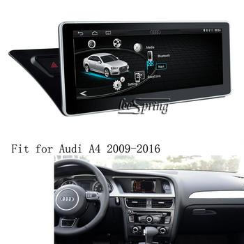 10.25 inch Android 9.0 Car media player for Audi A4 A5 2009-2016 GPS Navigation Upgraded Original Car Screen image
