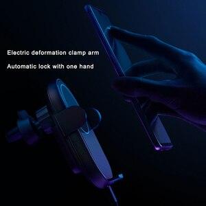 Image 5 - 지능형 적외선 센서 20 w 높은 전원 플래시 충전 자동차 전화 홀더와 전화에 대 한 샤오 미 미 무선 자동차 충전기