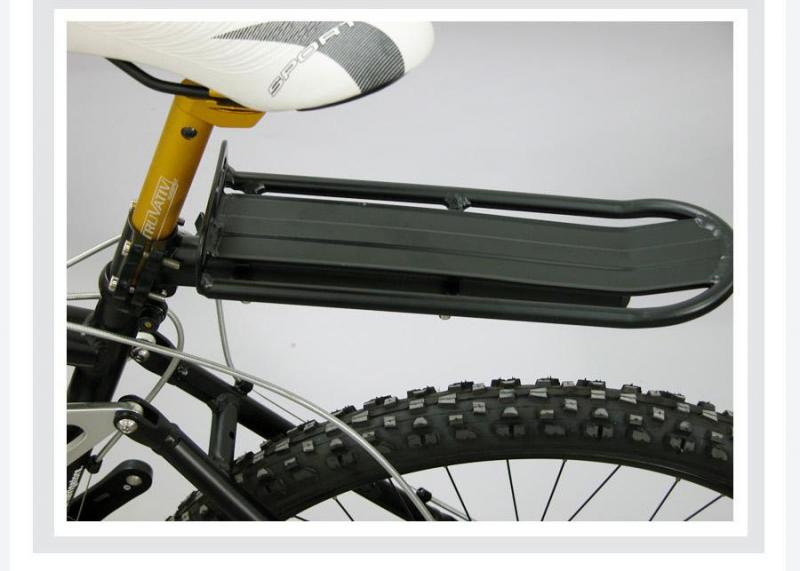 Hot Bike Rear Pannier Rack Connector Carry Carrier Seatpost Bicycle Adapter GS