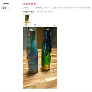 Image 5 - FSILE 500/1000 мл с двойными стенками изолированный термос Нержавеющаясталь воды колы бутылки воды пива термос для Спортивная бутылка/6