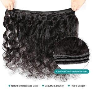 Image 3 - 100% человеческие волосы для наращивания, не Реми, 3 пряди