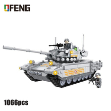 New WW2 M1R2 Tank Military Building Blocks compatible Army Soldier Weapon figures Bricks Toys for Children Boy Gifts цена 2017