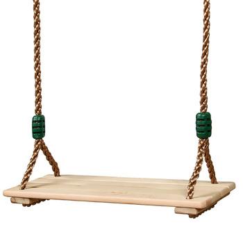 Wysokiej jakości polerowana cztero-płytowa antykorozyjna drewniana huśtawka zewnętrzna wewnętrzna duszpasterska drewniana huśtawka dla dorosłych dzieci tanie i dobre opinie CN (pochodzenie) Outdoor Garden Swings support 40*1 2*16 2cm Children Outdoor Fun Toys
