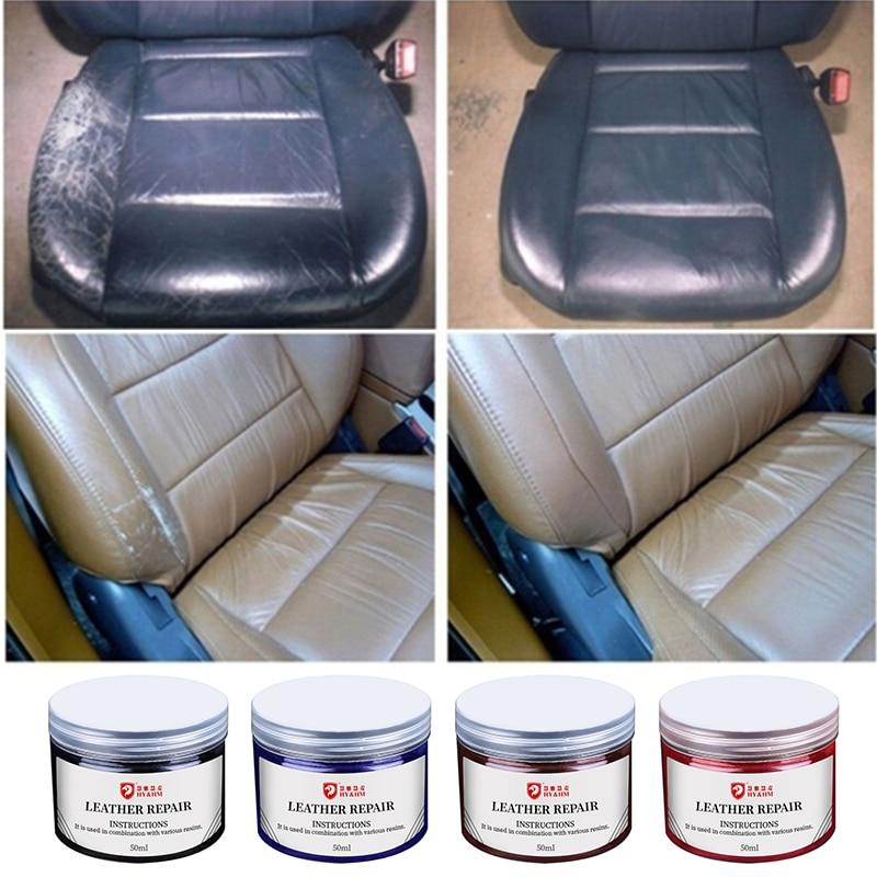 Paint Care Car Leather Repair Tool Car Seat Sofa Coats Scratch Restoration Maintenance No Heat Liquid Leather Vinyl Repair Kit