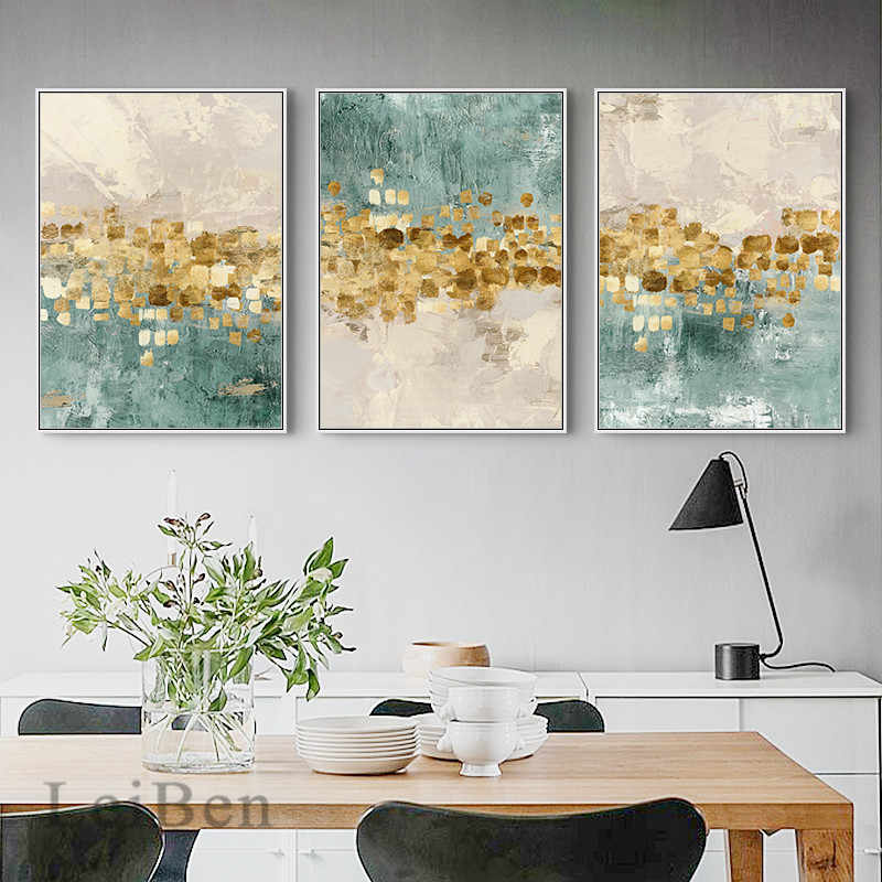 Abstract Gouden Munten Poster Canvas Schilderij Nordic Home Decor Fashion Wall Art Print Foto Voor Woonkamer Cuadros Decoratie