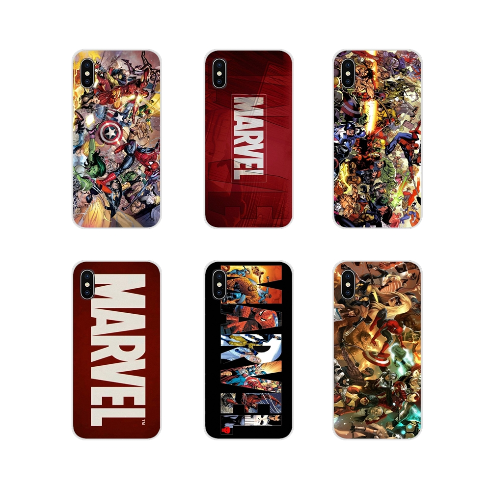 Accessories Phone Shell Covers For LG G3 G4 Mini G5 G6 G7 Q6 Q7 Q8 Q9 V10 V20 V30 X Power 2 3 K10 K4 K8 2017 Retro Marvel