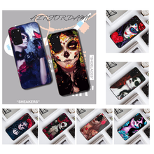 NBDRUICAI Catrina beautiful rose girl Skull Art Customer Phone Case for Samsung S20 plus S20 Ultra S5 S6 S7 edge S8 S9 plus S10(China)