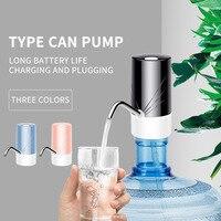 Bomba de agua eléctrica con carga USB, dispensador automático de agua potable para el hogar y la Oficina