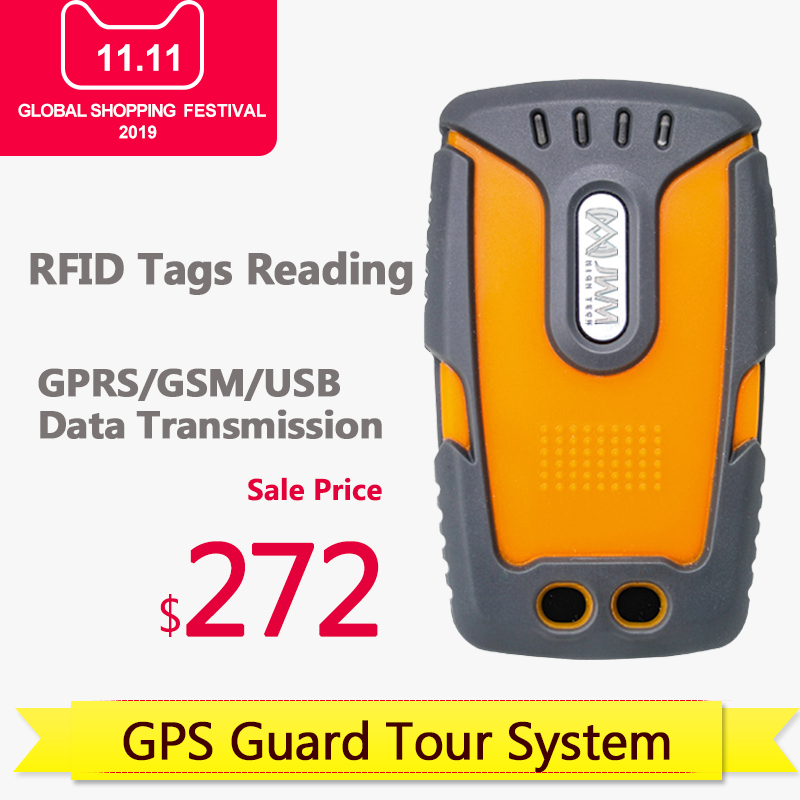 Image 2 - JWM RFID GPS GPRS Guard Patrol Reader with 5 Checkpoints, 2 Staff Tags and Free Software-in Guard Tour System from Security & Protection