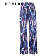 Фиолетовые прямые брюки карго с принтом молнии женские уличные