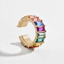 Multicolor CZ Crystal Cartilage…