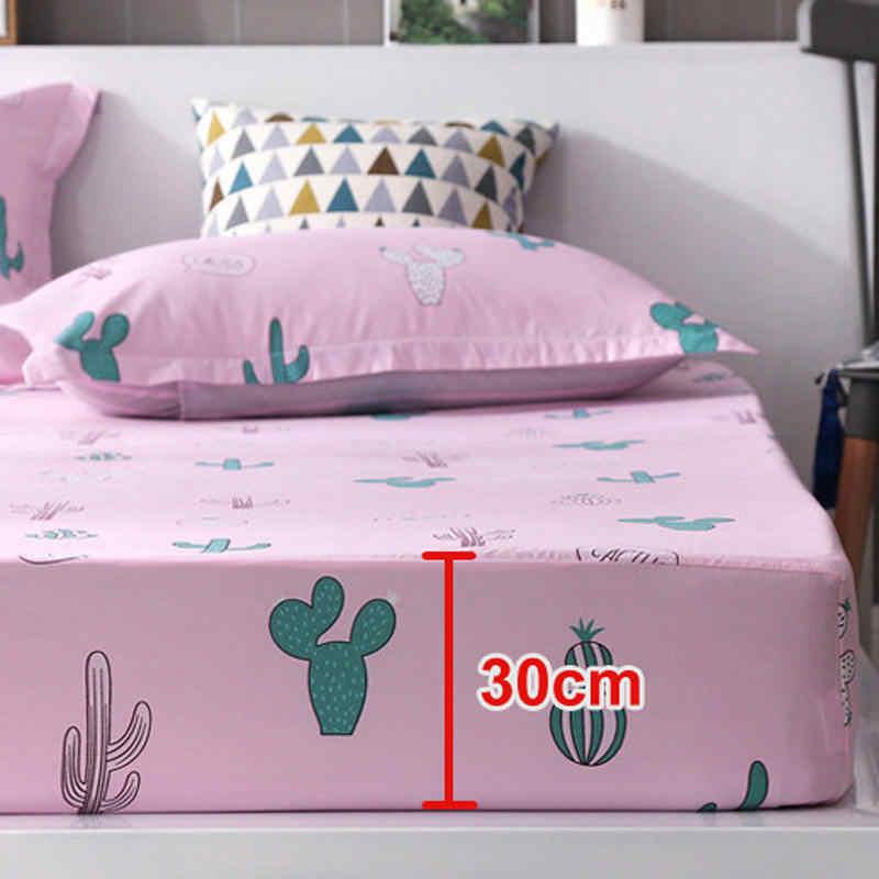 Чехол для девочки с лимоном, матрас для мальчика, дышащий чехол для кровати для взрослых, детский матрас, протектор, летний коврик для сна 2CDT-63002