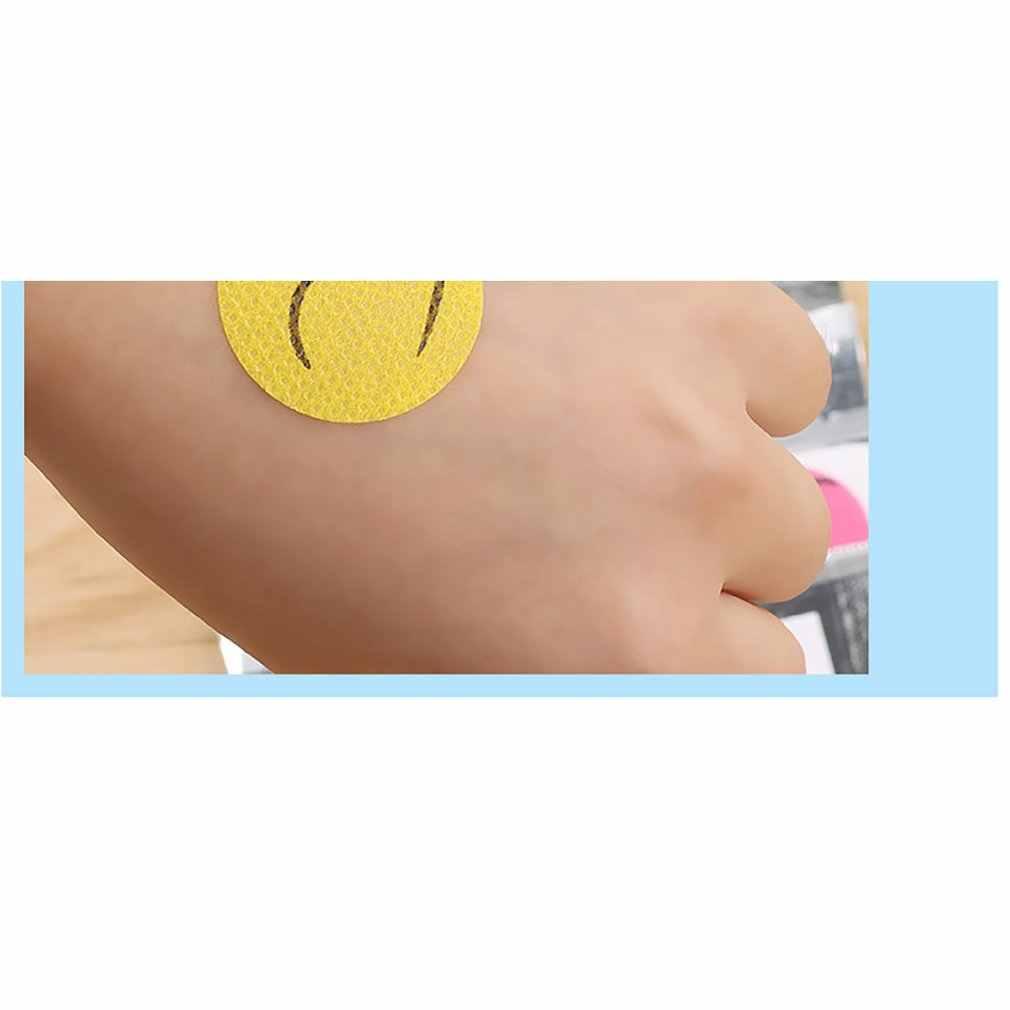 6 Buah/Set Tidak Beracun Anak-anak Dewasa Tumbuhan Alami Formula Anti Nyamuk Stiker Patch Repellen Nyamuk Pembunuh