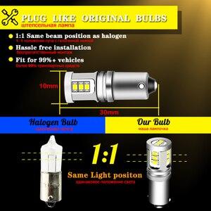 IJDM T4W BA9S светодиодный лампы BAX9S H21W BAY9S светодиодный 12V 24V H6W H5W светодиодный для автомобиля задний противотуманный свет красный, белый автомати...