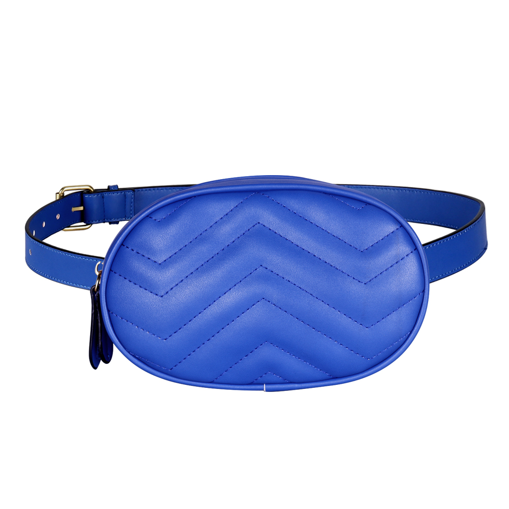 Buylor Waist Pack Fanny Pack For Women 2020 Belt Bag Crossbody Bag PU Leather Casual Chest Packs Ladies Wide Strap Message Bag