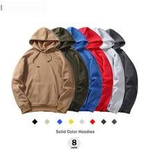 Новинка осенняя модная толстовка мужское теплое флисовое пальто