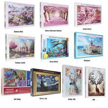 Card-Game Paper Jigsaw-Puzzle Scenery Decroration Bedroom Funny Creative Mini Interesting