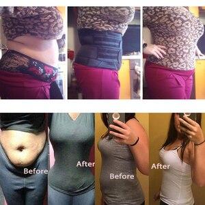 Image 2 - Корректирующий пояс для талии и живота, моделирующий пояс для снижения веса и похудения, корсет