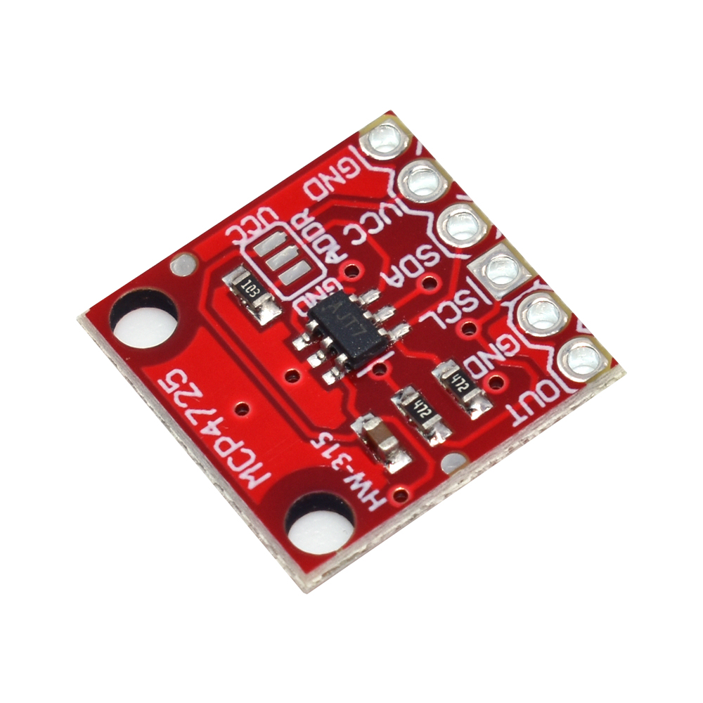 MCP4725 I2C DAC Breakout module development board