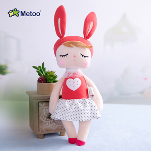 10/30/50 sztuk Metoo angela sweetheart królik najnowsze oryginalne lalki dla dzieci święto dziękczynienia boże narodzenie nowy rok dzień dziecka prezent