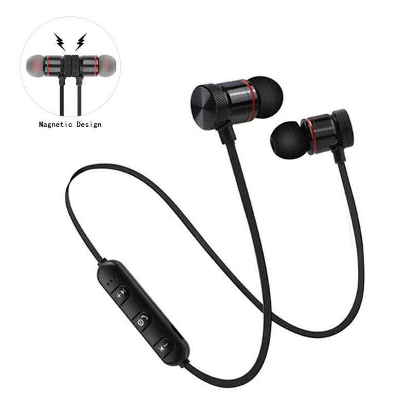 Neckband Bluetooth Earbuds for Motorola Moto G7 Power G6 Play G5 G5S Plus G4 Z4 Z3 X4 X3 One Action Vision Earphones Headphones