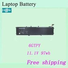 Высококачественный аккумулятор для ноутбука 6GTPY для Dell Precision 5510 XPS 15 9550 9560 аккумулятор
