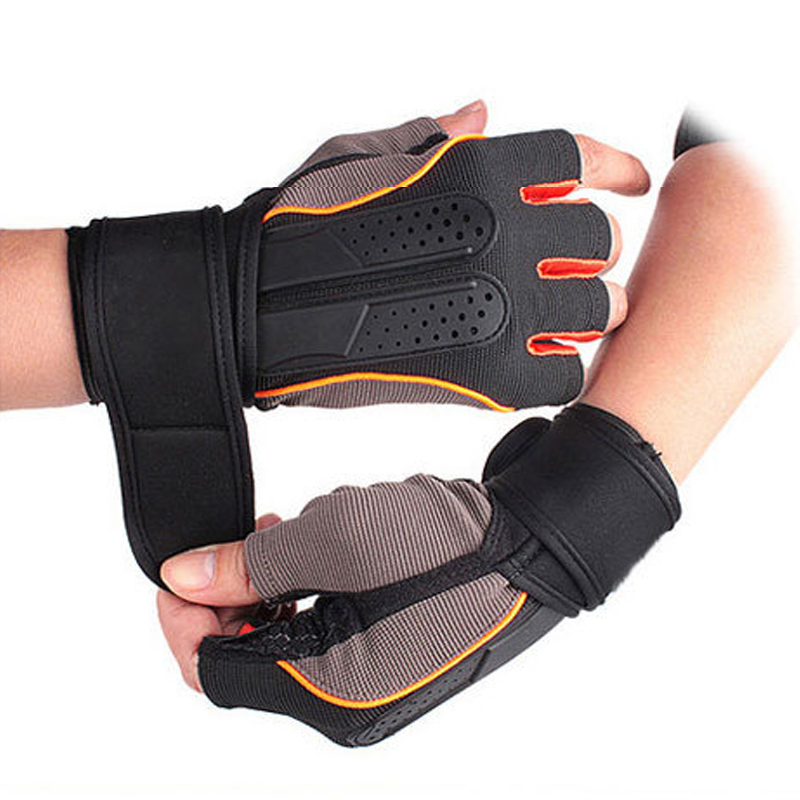 High Quality Weight Lifting Sports Gloves Anti-slip Outdoor Half Finger Running Gloves for Riding Hiking Fishing Sports Gloves