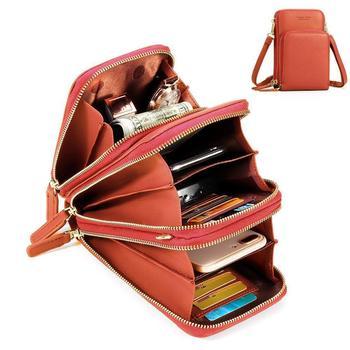 Brand Crossbody Cell Phone Shoulder Bag Cellphone Bag Fashion Daily Use Card Holder Mini Summer Shoulder Bag for Women Wallet