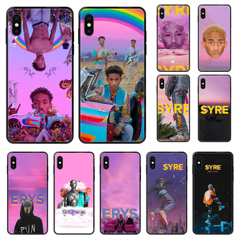 Jaden Smith Phone case For iphone 4 4s 5 5S SE 5C 6 6S 7 8 plus X XS XR 11 PRO MAX 2020 black silicone funda 3D shell painting image