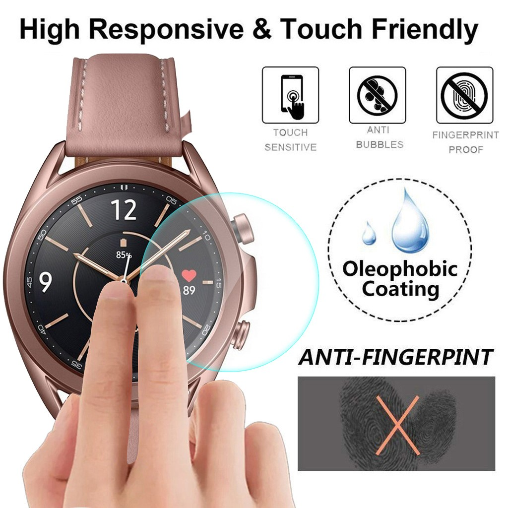 5Pcs 9H Explosion-proof TPU HD Full Cover Screen Protector Film For Samsung Galaxy watch 3 41mm Bubble Free Anti-Scratch Film