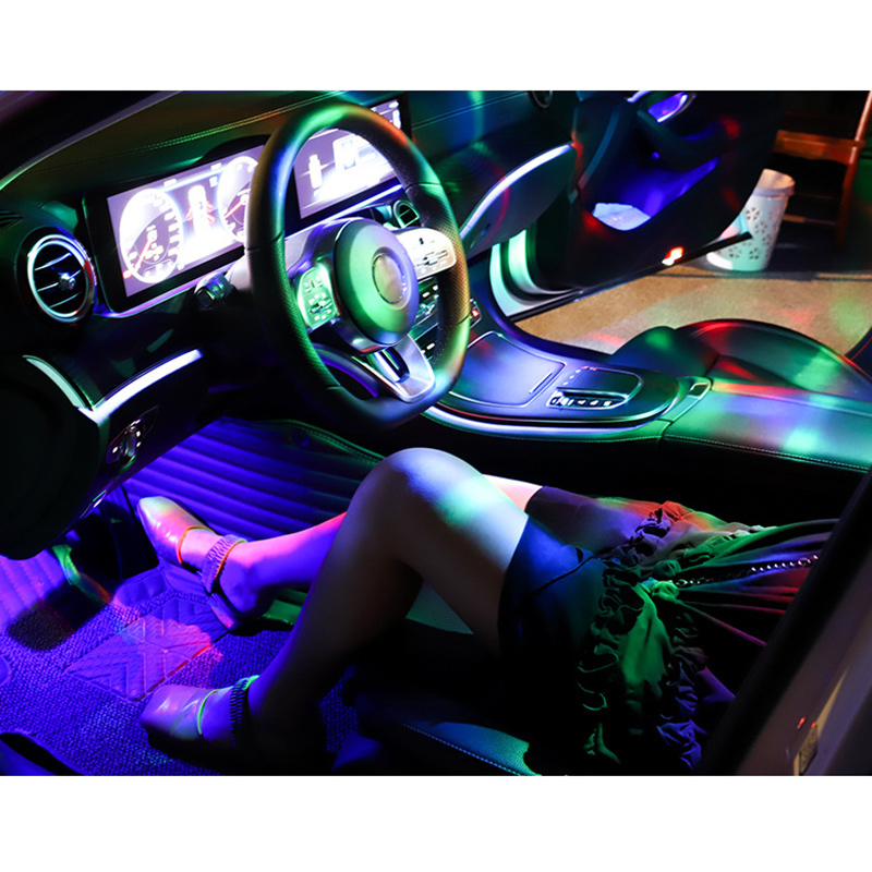 Mini Portable Ball Party Light Chargable Car LED Flashing Light For Home Club Outdoor WWO66
