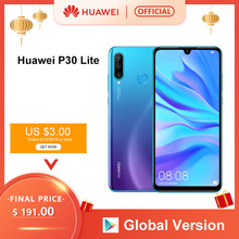 Global Version Huawei P30 Lite 4GB 128GB Smartphone 6.15 inch Kirin 710 Octa Cor