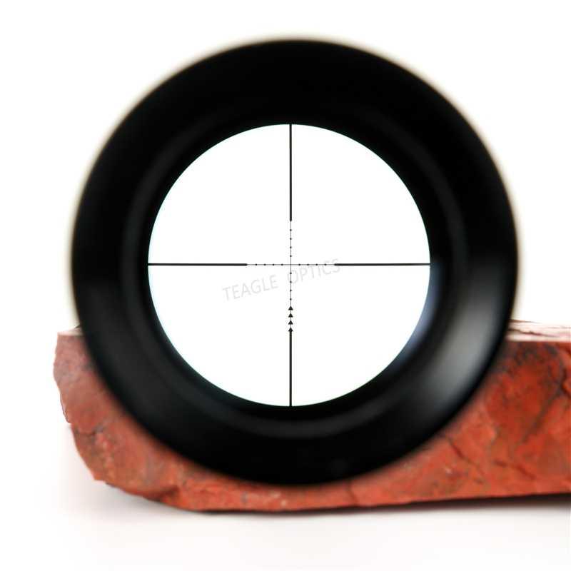 Mira telescópica táctica TEAGLE EO 4-16x44 AOEG de largo alcance, Rifle de aire, óptica roja, mira telescópica iluminada con punto rojo para caza de tiro PCP